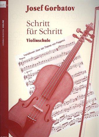 Schritt für Schritt: Violinschule für Violine