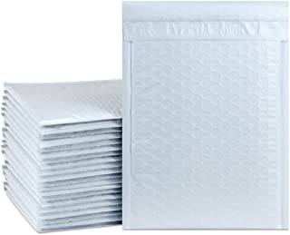 UCGOU 6x10 Inch Bubble Mailers White Poly Waterproof Padded Shipping Envelopes Self Seal 25pcs