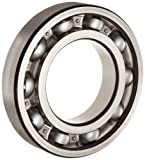 FAG 6215-C3 Deep Groove Ball Bearing, Single Row, Open, Steel Cage, C3 Clearance, Metric, Metric, 75mm ID, 130mm OD, 25mm Width, 11000rpm Maximum Rotational Speed, 11000lbf Static Load Capacity, 14900lbf Dynamic Load Capacity