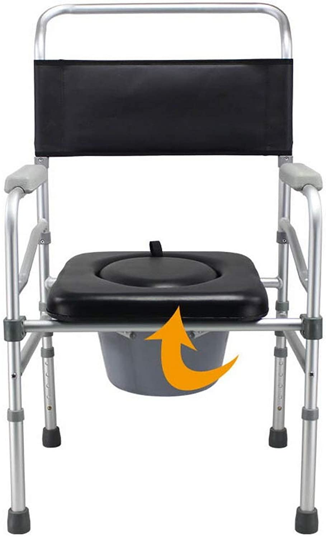 MCLY Bad Hocker, Tragbarer Klappstuhl Aus Aluminium Für O-frmige Sitzplatten, ltere Schwangere Frauen Hhenverstellbar Rutschfester Saugfu Badhocker