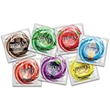 Best Flavored Condoms - Trustex Non-Lubricated Flavors with Brass Lunamax Pocket Case Review