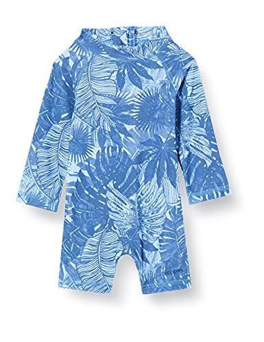Noppies Baby-Jungen B Swimsuit Tadil Badeanzug, Powder Blue-P673, 74-80