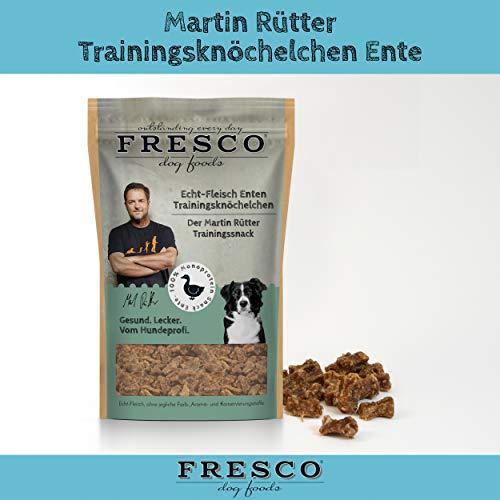 Fresco Dog Trainingsknöchelchen Ente 10x150g