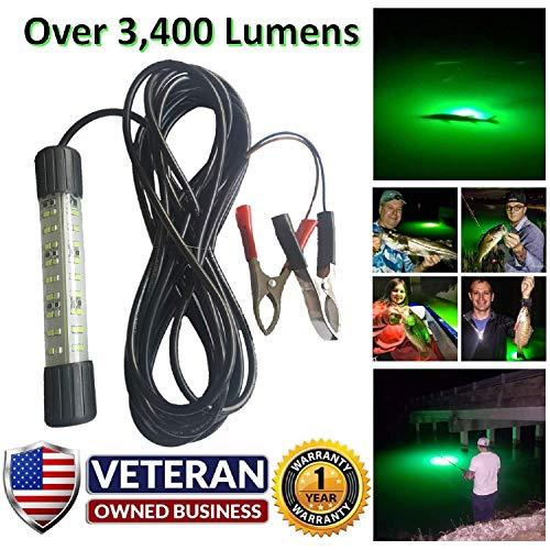 IllumiSea Ultra Bright 3450 Lumen Green 12v Mini BriteBite...
