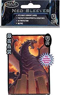 MAX Protection Giant T-Rex Zilla Dinosaur Yugioh Size Small Sleeves 50ct Pack