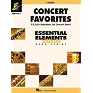 CONCERT FAVORITES VOL1 F HORN (Essential Elements 2000 Band) by Michael Sweeney (2002-10-01)