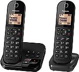 Panasonic KX-TGC 422 GB, schnurloses Telefon mit Anrufbeantworter und Zusatz-Set