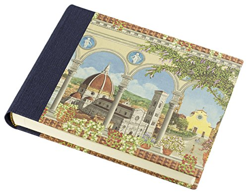 Il Papiro Firenze Fotoalbum mit lithographiertem Papier