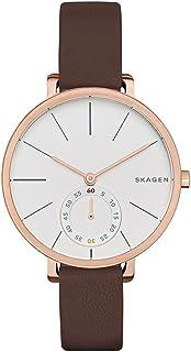 Skagen Hagen Women's White Dial Leather Analog Watch - SKW2356