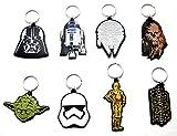 8 X Star Wars Set Yoda Darth Chubaka R2D2 C3Po Trooper Falke Schlüsselanhänger Anhänger by...