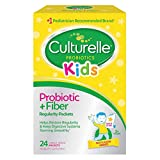Culturelle Kids Regularity Probiotic & Fiber Dietary Supplement | Helps Restore Regularity & Keeps Kids' Digestive Systems Running Smoothly* | Works Naturally with Child'S Body* | 24 Single Packets