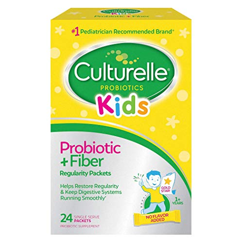 Culturelle Kids Regularity Probiotic & Fiber Dietary Supplement | Helps Restore Regularity & Keeps Kids