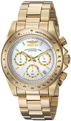 Men's Connection Quartz Watch with Stainless-Steel Strap, Gold, 20 (Model: ) - Invicta 24770