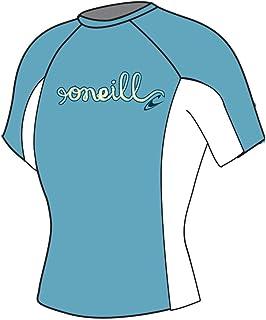 O'Neill Wetsuits Girl's Skins Short Sleeve Crew Rash Guard