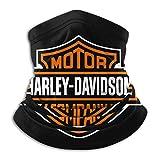 not Balaclava Harley Davidson Face Mask, Tour de Cou Bandanas Tube Masque sans Couture Cache-Cou Echarpe Balaclava Moto Ski Hunting