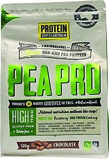 Protein Supplies Australia PeaPro Raw Pea Protein Powder, Chocolate 500 g ,    , Chocolate 500 grams