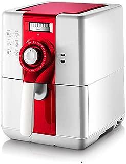 ZC Dawn Power Air Fryer, Electric Hot Air Fryer Oil Free French Fries Machine Intelligent Smokeless Fryer with Air Fryer Recipes EU/AU/UK/US Plug,Red,EU