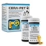 Cera-Pet Blutzuckerteststreifen 50 STK. für Hunde und Katzen