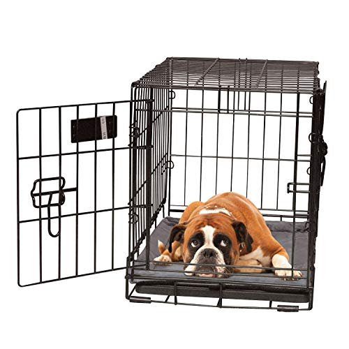 K&H Pet Products Self-Warming Crate Pad Gray Large 25 X 37 Inches