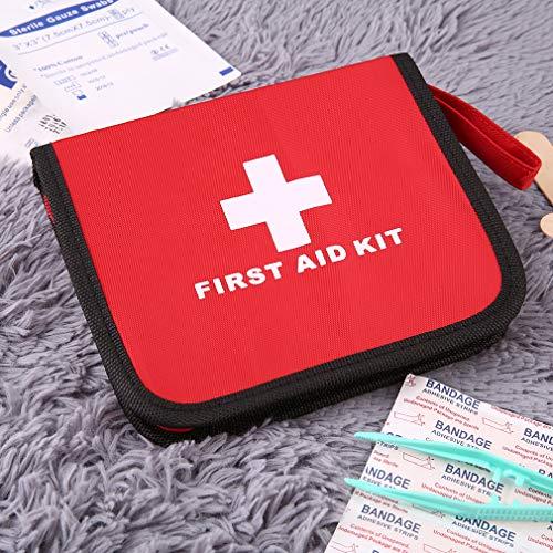 FISOUL Sac médical d'urgence Trousse de premiers secours Voyage Survie Traitement de sauvetage