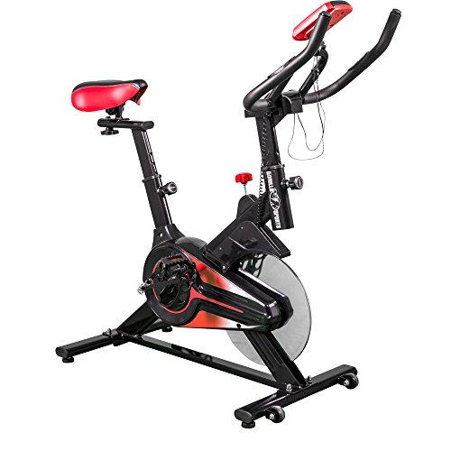 Gorilla Sports Vélo d'appartement avec Console