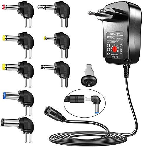 PChero 30W 3V bis 12V Haushaltselektronik Gleichstrom/Wechselstrom-Ladegerät Schaltnetzteil-Adapter Ersatz für Tablet PC Router Lautsprecher LCD Überwachungskameras