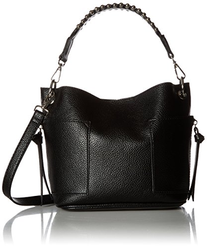 Steve Madden womens Bsammy shoulder handbags, Black, One Size US