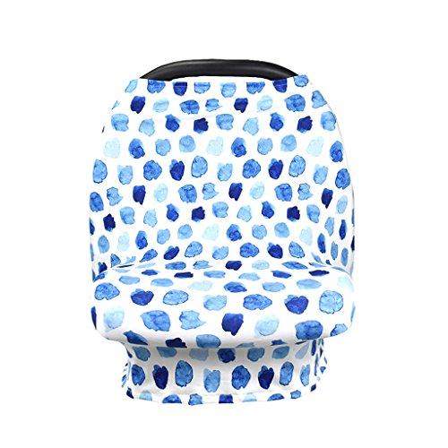 1# JOYKK Breathable Cotton Mum Breastfeeding Cover Outdoor Nursing Apron Shawl for Baby