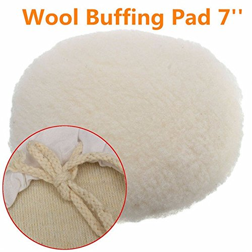 Doradus 7Inch pulidora Buffer suave lana Bonnet