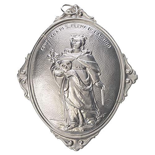 Medalla cofrad?a Santa Elena de Laurino, Plateado