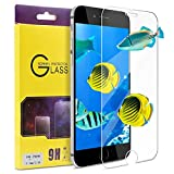 "ATGOIN iPhone 7 Screen Protector, Tempered Glass [0.2mm, 2.5D][No Bubble] 9H Hardness Screen Protector Fit for Apple iPhone 7 & iPhone 6/6s 4.7"" Clear"