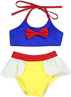 Tsyllyp Girls Kids Unicorn Swimsuit Bathing Suit One Piece Swimwear Sunsuits