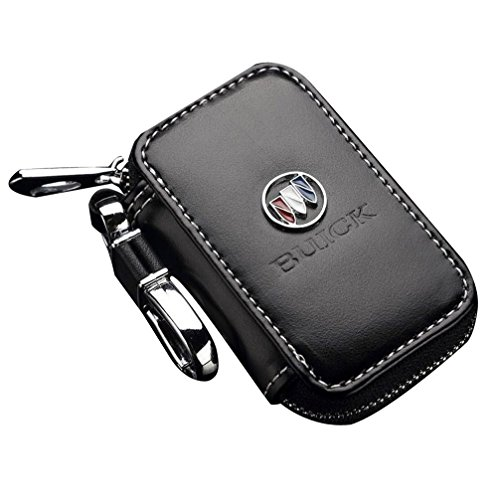Wall Stickz Bearfire Leather Car Key Case Remote Control Package Auto Key Chains (fit Buick)