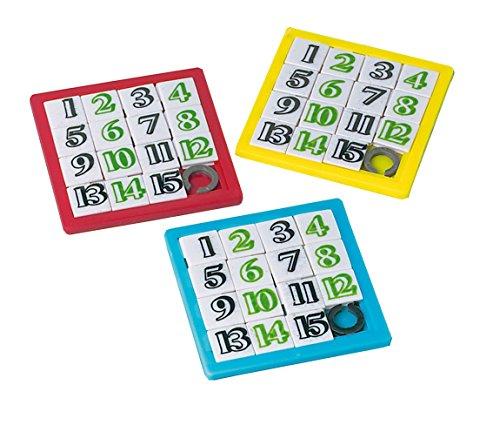 amscan INT390258 Schiebepuzzle, Mehrfarbig