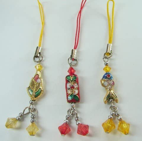 Cloisonnes Mobile Phone Charm-right Brand Challenge the lowest price new