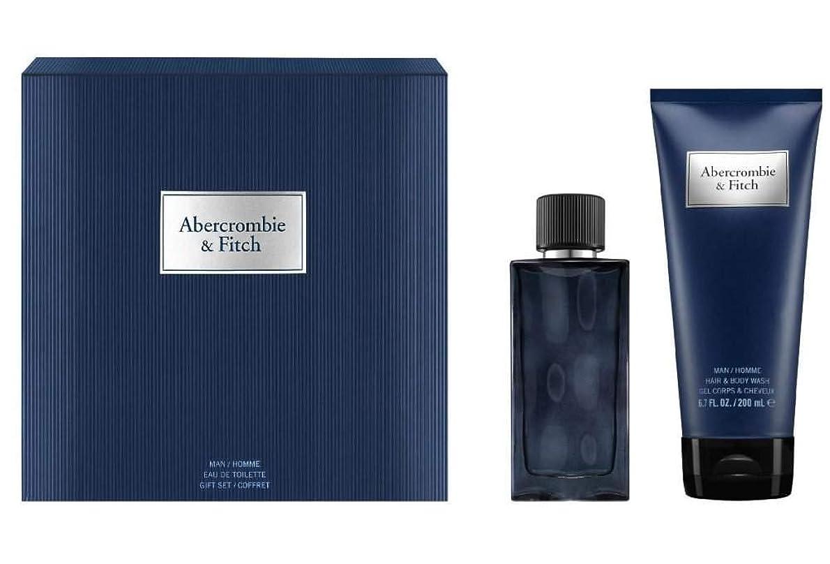 シャツ電話をかける九時四十五分アバクロンビー&フィッチ First Instinct Blue Coffret: Eau De Toilette Spray 50ml/1.7oz + Hair & Body Wash 200ml/6.7oz 2pcs並行輸入品