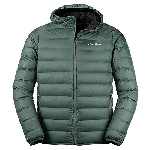 Eddie Bauer Men's CirrusLite Down Hooded Jacket, Camo Regular S