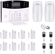 AG-Security Home Security System with optional 24/7 professional monitoring No contracts Wireless 14 piece security kit  DIY Home Security