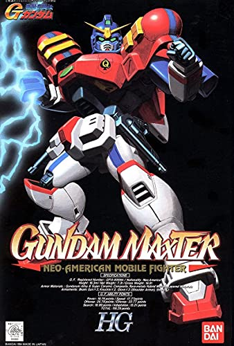 Gundam Maxter G 04 Neo-American 1/100 Model Kit HG