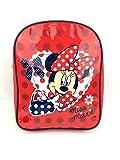 Quality Minnie Mouse Girls Kids Backpack Rucksack Nursery School Bag red New