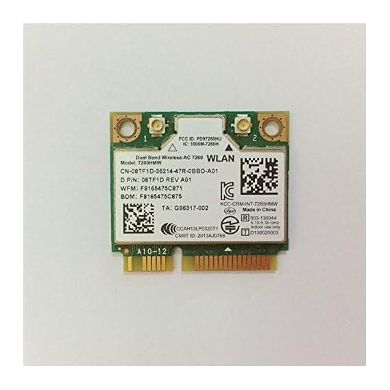 PJCARD Dual Band Wirless - AC 7260 HMWG WiFi H/T 2x2 AC+Bluetooth 4.0 USE FOR INTEL AC 7260 HMC HALF MINI PCI-E CARD Support NUC