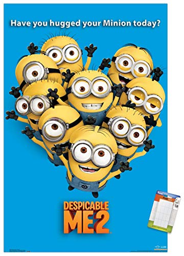 Trends International Despicable Me 2-Minions - Póster de pared (56,8 x 86,4 cm), diseño de minions
