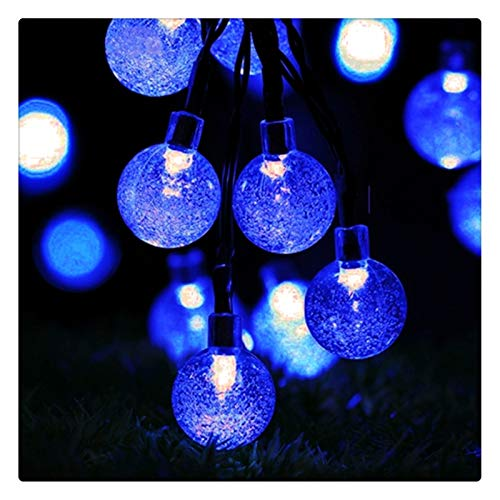 Solar Fairy Lights, Globe String Lights, Crystal Ball String...