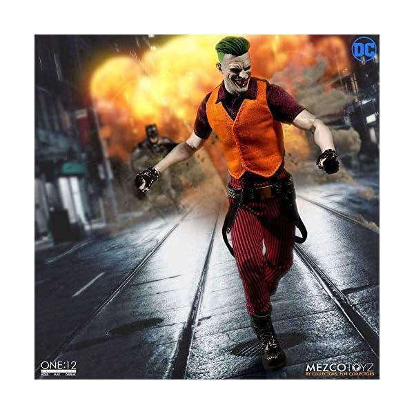 Mezco One:12 Collective The Joker Clown Prince of Crime Standard 3