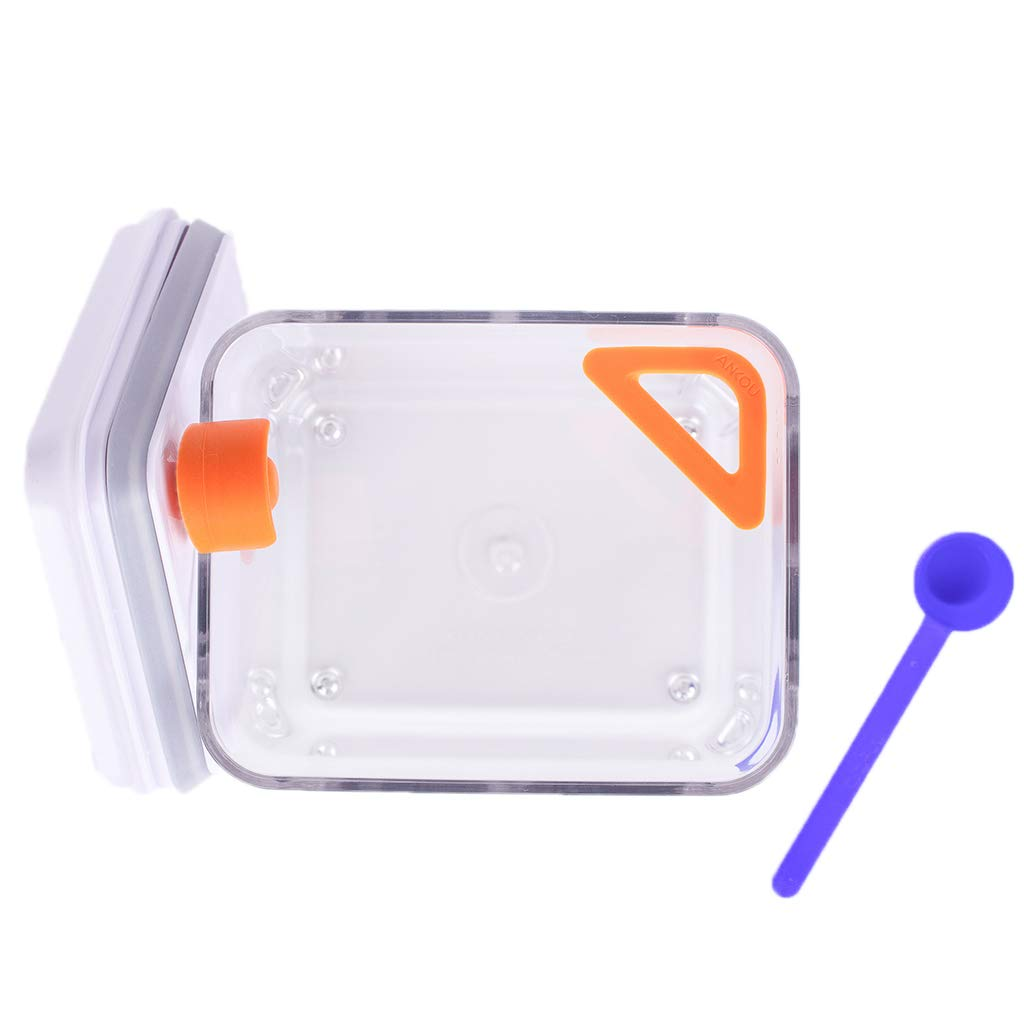 Airtight Formula Storage Container with Spoon Holder and Leveler