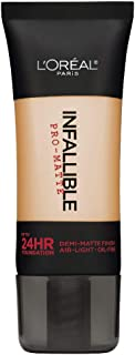 L'Oreal Paris Infallible Pro-Matte Foundation, Golden Beige [104] 1 oz