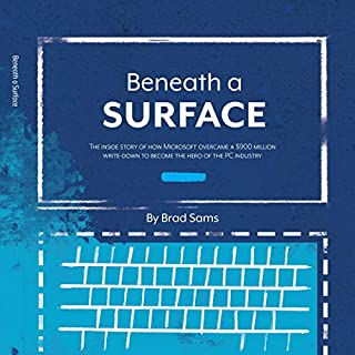 Beneath a Surface audiobook cover art