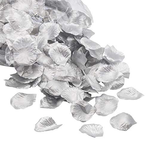 Lot de 300 pétales de rose en soie pour décoration de mariage, Saint-Valentin