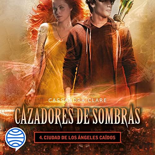 Diseño de la portada del título Ciudad de los ángeles caídos