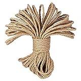 100% corde di canapa naturale Cord  LUOOV® spessore 6mm e forte...